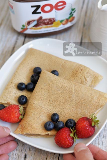 basic buckwheat crepes gluten free