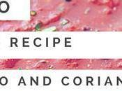 Paleo Indian Vegetarian Recipe Tomato Coriander