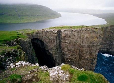 Leitisvatn Lake, Faroe Islands