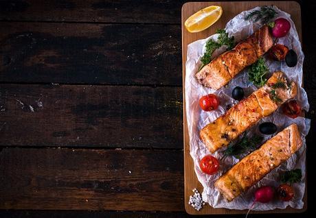 paleo dinner recipes mediterranean salmon featured image