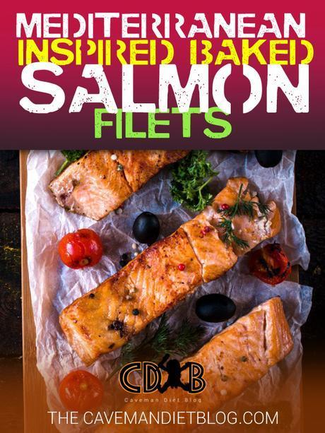 paleo dinner recipes Mediterranean salmon main image