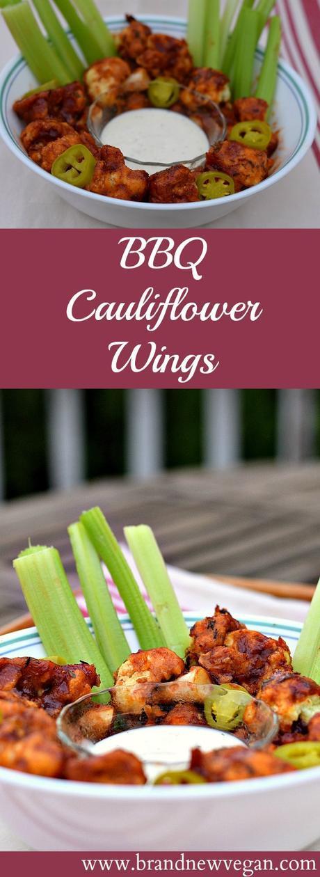 bbq cauliflower wings pin