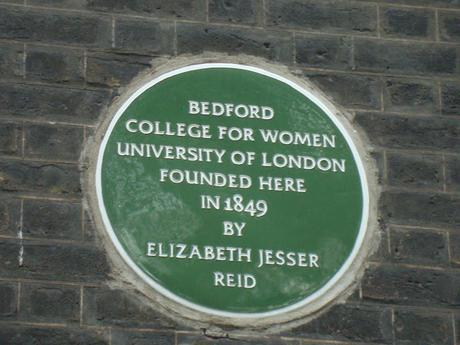 #plaque366 Bedford College For Women