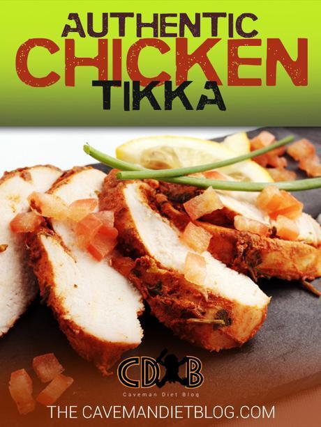 paleo dinner recipes chicken tikka main image