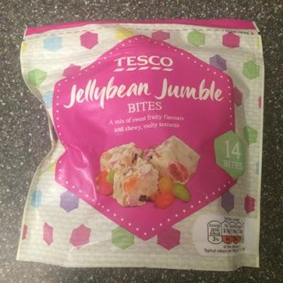 Today's Review: Tesco Jellybean Jumble Bites