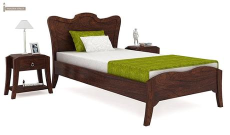 6 Best Single Bed Designs You Can Find at Wooden Street