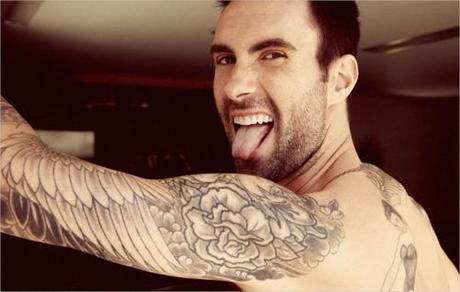 Maroon 5 Front Man Adam Levine Reveals Cauliflower Tattoo Regret