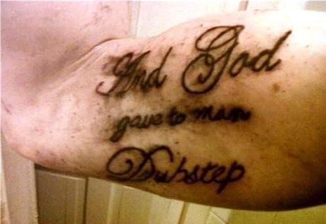 Worst Tattoo Ever And God Gave To Man A Bad Tattoo Paperblog