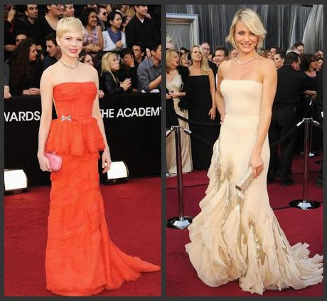 Oscar Fashion 2012