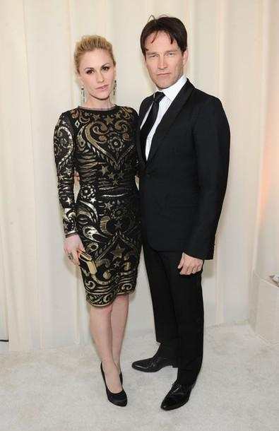 Anna Paquin and Stephen Moyer at CIROC Vodka at Elton John AIDS Foundation Academy Awards Viewing Party