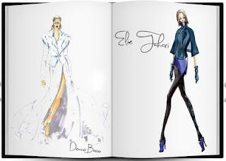 NYFW Designer Sketches