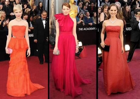 Best Dressed: The 84th Annual Academy Awards AKA The Oscars