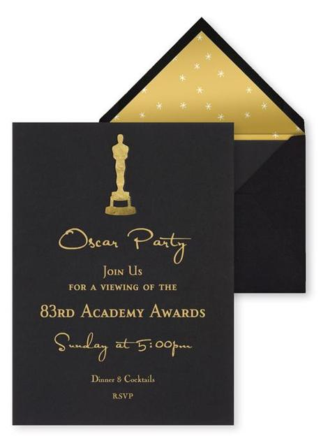 best oscar viewing party invitations paperblog