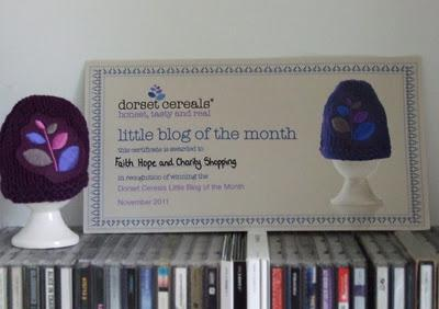 Little Blog of the Month Award (with drunken mugging for the camera)