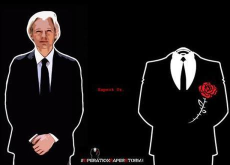 Global Intelligence Files: WikiLeaks seems to team with Anonymous, governments and corporations sweat up