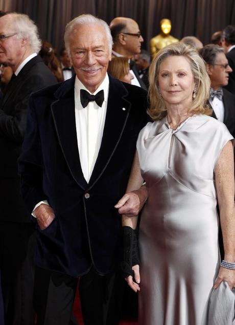 Christopher Plummer 2012 Oscars, academy awards, 2012, oscars, christopher plummer, best dressed, red carpet, beginners, best supporting actor