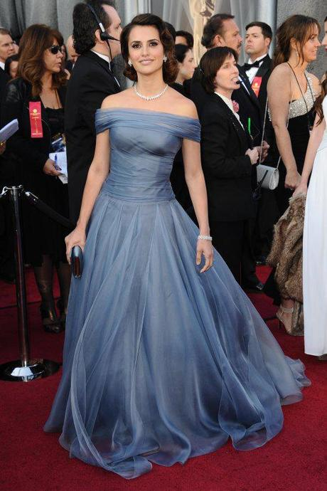 Penelope Cruz Oscars 2012, Penelope cruz, chopard, oscar jewelry, 2012 oscars, red carpet