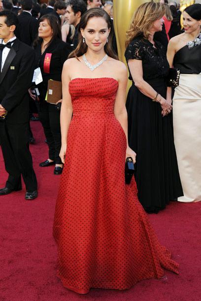 Natalie Portman Oscars 2012, oscars 2012, natalie portman, christian dior, harry winston