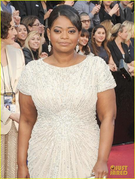 Octavia Spencer 2012 Oscars, 2012 oscars, octavia spencer, tadashi  shoji, neil lane, best supporting actress, 84th academy awards, red carpet, best dressed