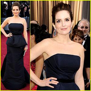 Tina Fey Oscars 2012, Tina Fey, Carolina Herrera, Bulgari, oscars, 2012, academy awards