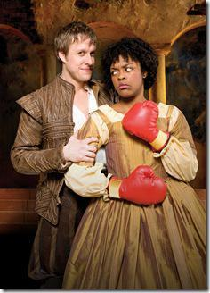 Ericka Ratcliff, Matt Mueller - Chicago Shakespeare - Taming of Shrew