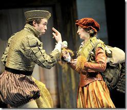 Alex Goodrich as Tranio, Jessie Fisher as Biondella