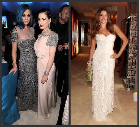 Oscar Fashion 2012: Off-the-Shoulder Gowns - Oscar Gowns 2012 ...