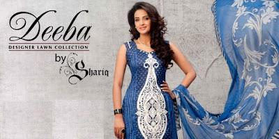 Deeba Designer Lawn Collection 2012 By Shariq Textiles