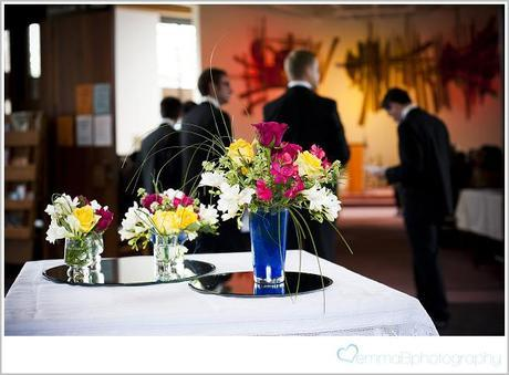 An art deco wedding with Pimms and ice cream