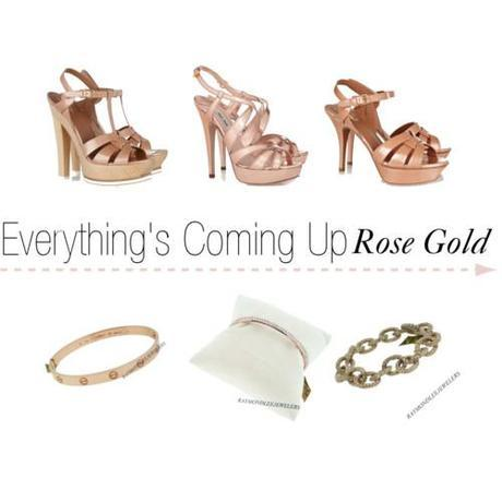 Tuesday Shoesday: Everything's Coming up Rose Gold