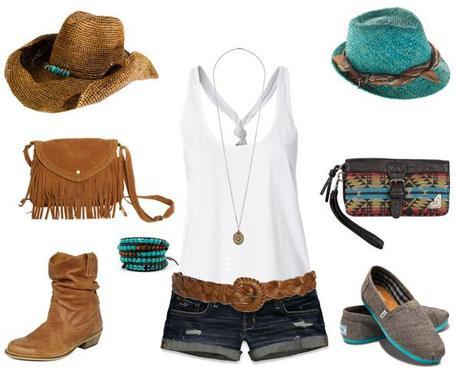 Festival wear…