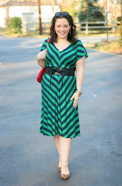 Tuesday - Stripes and Leopard