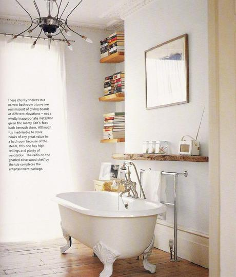 One of the best home decor books i 39 ve read in a while for Bathroom designs book