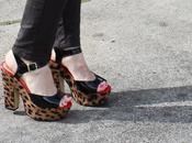Street Feet: Patent Leopard
