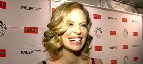 Kristin Bauer van Straten Working with PCRM to End Testing on Chimpanzees in 2012