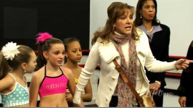 Dance Moms: Attention All Units. Be On The Lookout For A Runaway Mom. Armed With Glitter And A Pittsburgh Poof. Considered Kinda Crazy.