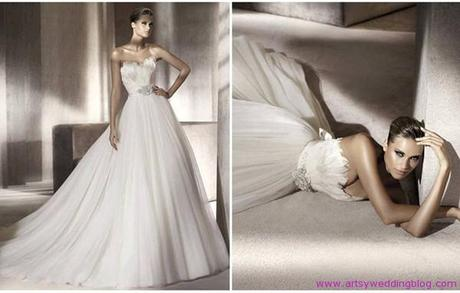 Manuel Mota 2012 Bridal Gowns