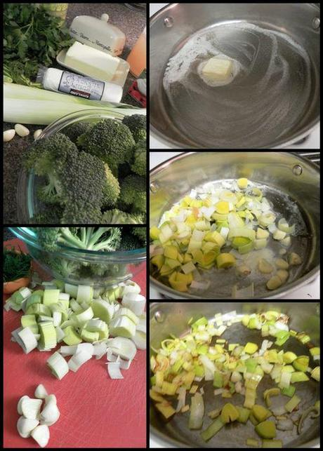 ... , Leek & Dill Soup with Goat Cheese & Herb Oil Drizzle - Paperblog