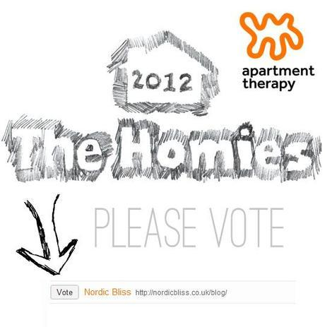 The Homies Award at Apartment Therapy