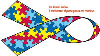 Autism Politics - Puzzle Pieces and Rainbows