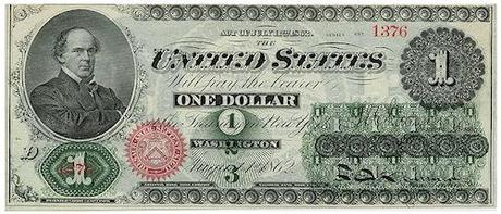 What The Original $1 Bill Looked Like