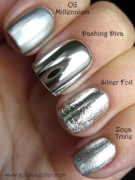 Chrome Nail Comparison