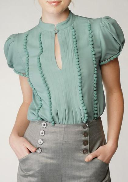 Fashion Friday--Sea Foam Green