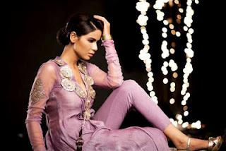 Spring Summer Dresses Glamorous Collection by Saadia Mirza Virtues