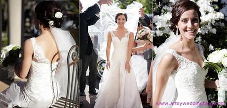 Terrific Bridal Hair Styles To Best Match Your Veil Barrette And Headband Short Hairstyles For Black Women Fulllsitofus