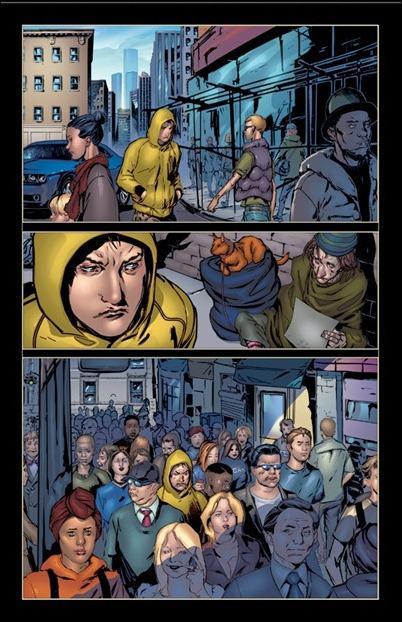 Harbinger #1 page 4
