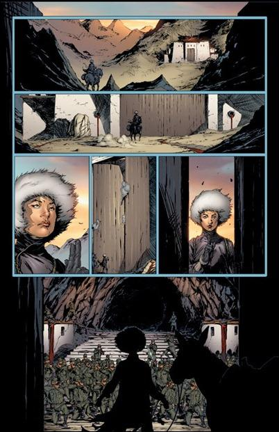 Harbinger #1 page 1