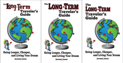 Writing a Travel Book Part 3 - Evolution of a Cover Design