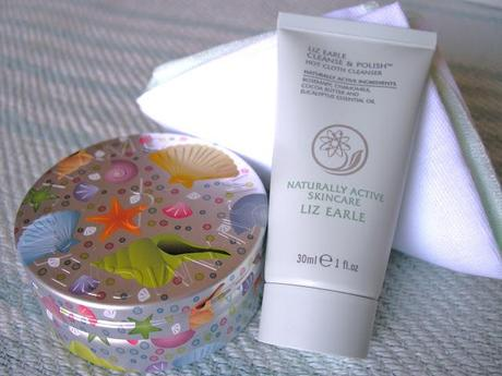 Give away! Liz Earle Cleanse & Polish and Steam Cream!