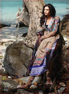 Zunuj Fashion Spring Summer Lawn Prints Collection 2012 by Lakhany Silk Mills